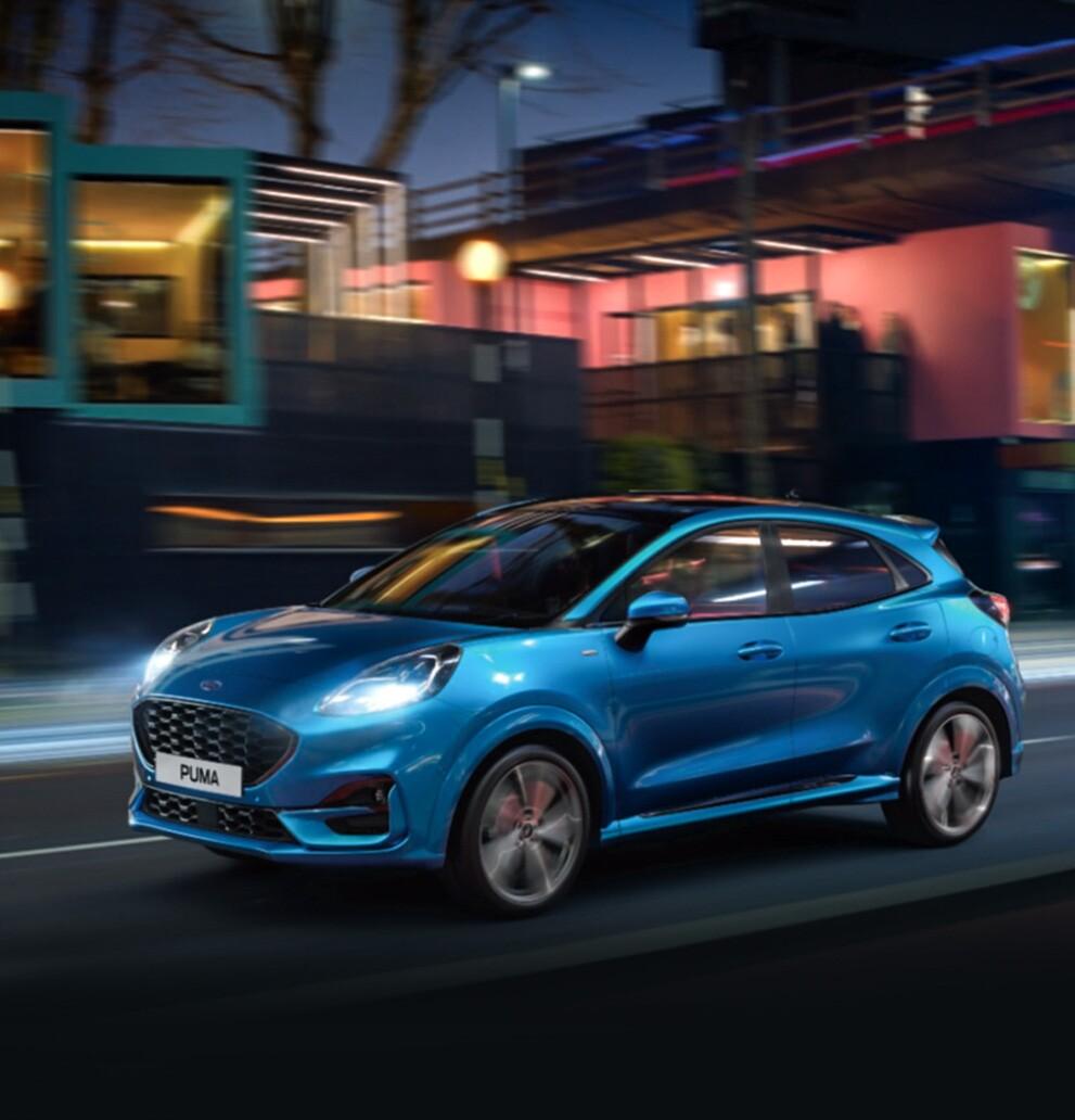 Διαμορφώστε Online το νέο Ford Puma MHEV